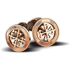 Patek Philippe Men's Cufflinks Calatrava Cross 18K Rose Gold ...