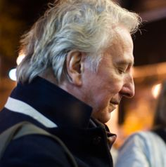 Alan Rickman Seminar stage door 1