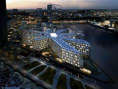 La Cité de l'ONU à Copenhague : un bâtiment insolite en étoile