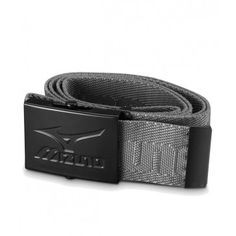 Mizuno Webbing Belt Grey | Golf Accessories #sportdeals