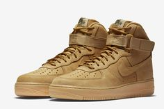 Nike Air Force 1 High WB 'Flax' - EU Kicks: Sneaker Magazine