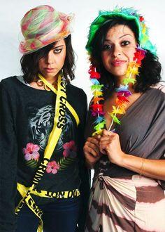 Aubrey Plaza and Alia Shawkat