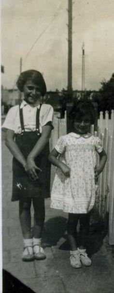 Anne and Margot, 1934