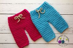 Crochet Twin Newborn baby pants, longies crochet Newborn pants photo props photography twins-Made to order on Etsy, $35.00
