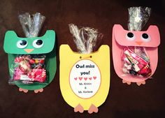 Student Gifts- Owl Miss You