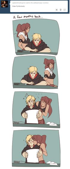 Pyrrha and Jaune Rwby Anime, Rwby Fanart, Anime Couples Manga, Cute Anime Couples, Rwby Pyrrha, Team Jnpr, Rwby Memes, Rwby Characters, Rwby Red