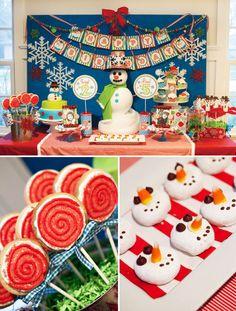 Winter wonderland bash #birthdays #parties #desserttable