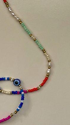 Bead Jewellery, Diy Jewelry, Beaded Jewelry, Handmade Jewelry, Jewelry Making, Beaded Bracelets, Embroidery Bracelets, Handmade Wire, Jewelry Necklaces