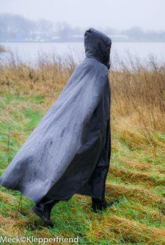 Wind Skirt, Rain Cape, Hooded Cloak, Cloaks, Pvc Vinyl, Love To Meet, Rain Wear, Capes, Satin