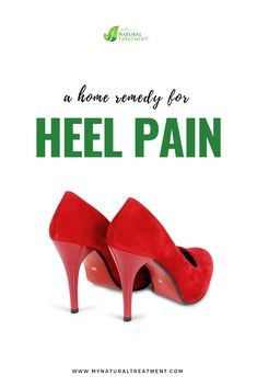 Home Remedy for Heel Pain with Garlic & Lamp Oil Remedies For Tooth Ache, Back Pain Remedies, Headache Remedies, Home Remedies, Natural Remedies, Heel Pain, Foot Pain, Sore Heels, Natural Pain Relief