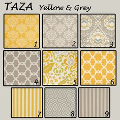 really thinking about grey and yellow