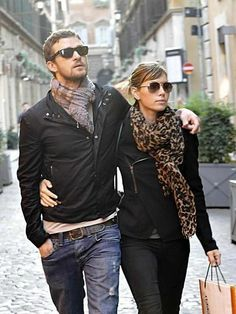 Justin Timberlake and Jessica Biel - couple street style :)