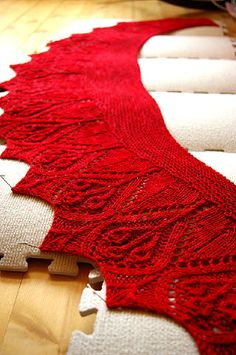 Pretty scarf- Hawthorne, from Twist Collective