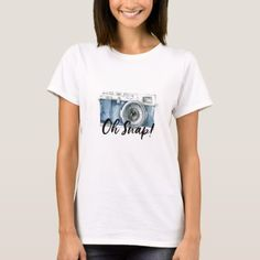 50b1232573 Oh Snap T-Shirt - humor funny fun humour humorous gift idea Cupcake T Shirt