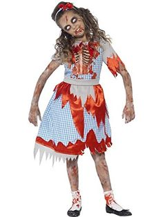 Zombie Country Girl Costume  Medium Age 79 *** You can find out more details at the link of the image.Note:It is affiliate link to Amazon.