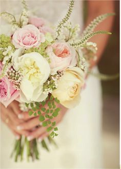 For a non-cascading bouquet...I really like these.