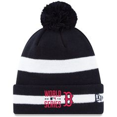 New Era Boston Red Sox 2013 World Series Bound Cuffed Knit Hat - Navy Blue/White
