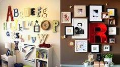 Resultado de imagen de decorar paredes de salon con fotos