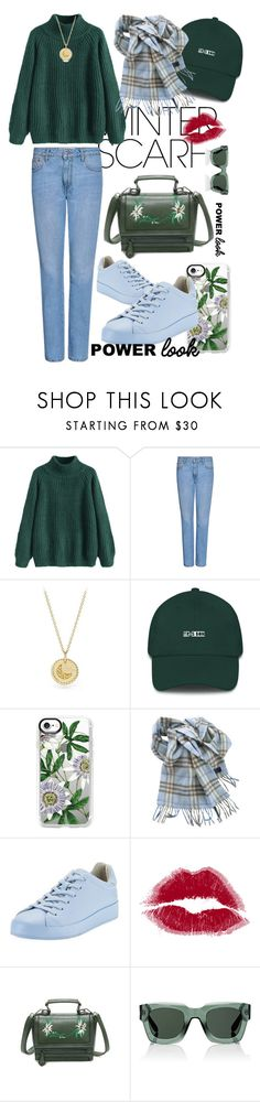 """My Army Outfit"" by dafa-yuvi ❤ liked on Polyvore featuring beauty, MSGM, David Yurman, Casetify, Burberry, rag & bone and Givenchy"