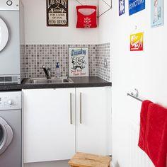 Elegant Wirtschaftsraum Abstellraum Wohnideen Möbel Dekoration Decoration Living  Idea Interiors Home Storeroom Utility Room   Weiße Und