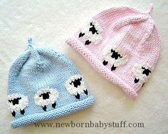 Baby Knitting Patterns Avery beanie pattern by Martha Johnson