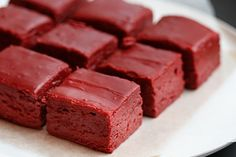 Red Velvet Fudge: 2 cups stevia 1/4 cup cocoa 1 cup buttermilk 3 tablespoons butter 1 tsp vanilla 1 tsp red gel food coloring