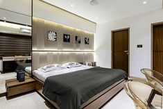 If, this is the time to regarding restoring your bedroom let you moving! Modern Master Bedroom, Modern Bedroom Design, Master Bedroom Design, Contemporary Bedroom, Dream Bedroom, Bedroom Designs, Bedroom Ideas, Apartment Design, Bedroom Apartment