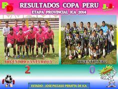 """""""Puro Deporte"""": Copa Perú Resultados de los cuartos de final Ica 2..."""