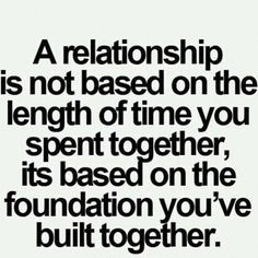 Relationship #relationship #foundation