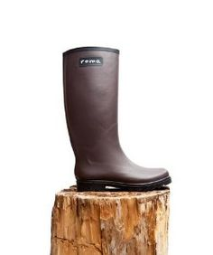Roma BootsRoma Boots Matte Brown Rain Boots