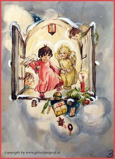 JOSEFINE BATKE-KOLLER (1897-1967) ORIGINAL Monet, Fantasy, The Originals, Illustration, Painting, Art, Pink, Illustrations, Gemstones