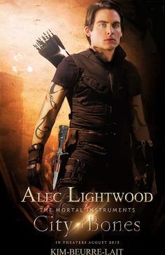 Kevin Zegers as Alec Lightwood in The Mortal Instruments: City of Bones (Love this pic! THE EYES!)