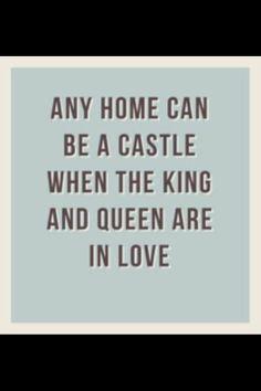 True love makes a home!!!