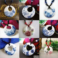 ciondoli di porcellana dipinti a mano - Cerca con Google