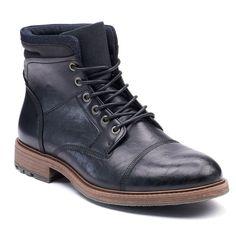 SONOMA Goods for Life™ Arches Men's Mid-Calf Boots, Size: medium (10.5), Black