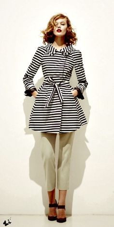 90ab537f019 Retro - Stripes that will go with any outfit in any season Trend Fashion