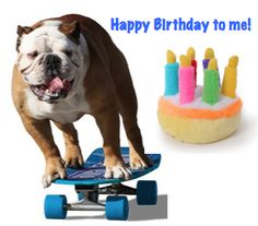 Tillman Skates: Today is my Birthday!