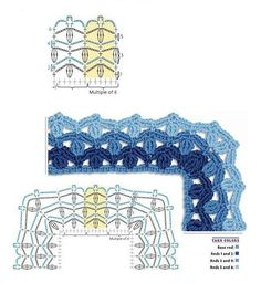edge pattern ♡ Teresa Restegui http://www.pinterest.com/teretegui/ ♡
