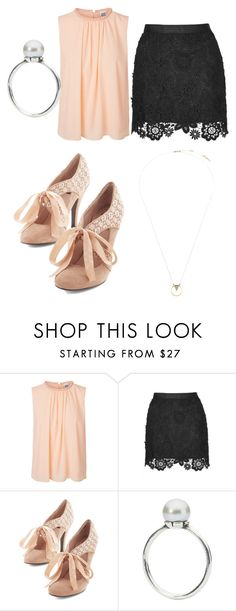 """""""elegante"""" by j-zsofi ❤ liked on Polyvore featuring Vero Moda, Topshop, Trollbeads and Whistles"""