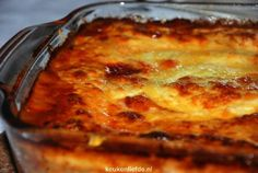 Traditionele lasagne - Another! Moussaka, Pasta Sauce Recipes, Good Food, Yummy Food, One Pot Meals, Pasta Dishes, Lasagna, Food Inspiration, Salad