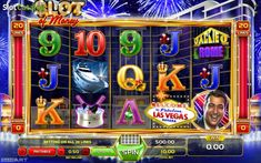 Main game. Slot Of Money (Video Slot from GameArt)