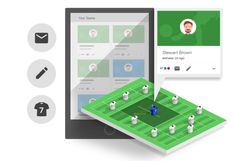 KEEP THE TEAM UP TO DATE - The organization of your team is important to us. Integrate your team into planet.training and communication between coaches, club and players becomes a breeze. Whereas you would stop at obligatory player attendance lists, we are just getting started. Offering your players insight into their performance, improvements to individual training sessions and much more is coming soon. #soccer #training #coaching