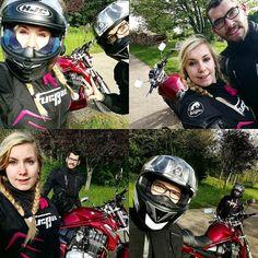 いいね!45件、コメント1件 ― Blandine Mélèchさん(@blandouu.j)のInstagramアカウント: 「Ballade moto en amoureux 💞 🏍…」