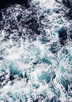 SEA FOAM PRINT: Ocean Waves Art Poster Ocean Wave Drawing, Wave Art, Scary Ocean, Monochrome Painting, Water Aesthetic, Ocean Backgrounds, Pokemon, Waves Wallpaper, Ocean Pictures