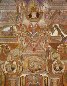 Augustin Lesage 1876-1954 French Spiritualist artist   gazette inspiration collector / the blog - gazette-ic.com