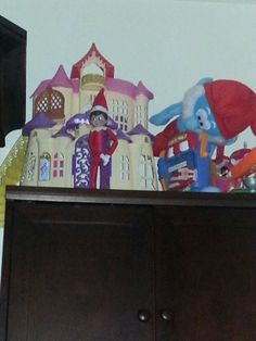 Elf in Sofia the First castle