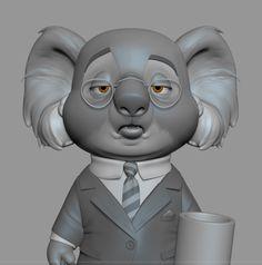 ArtStation - Koala, Brandon Lawless