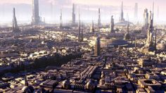Golden city when sun goes down by Jean-François Liesenborghs | Sci-Fi | 3D | CGSociety