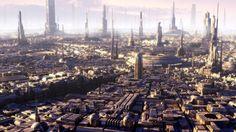 Golden city when sun goes down by Jean-François Liesenborghs   Sci-Fi   3D   CGSociety