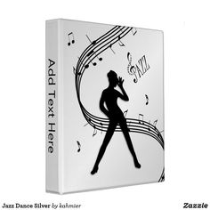 Jazz Dance Silver 3 Ring Binder Dance All Day, Binder Inserts, Jazz Dance, 3 Ring Binders, Binder Design, Dance Photos, Custom Binders, Photo Quality, Unique Weddings